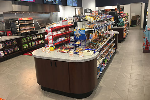 Food Service Display